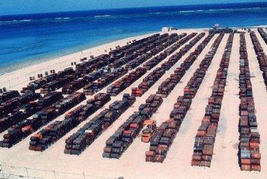 Leaking_Agent_Orange_Barrels_at_Johnston_Atoll