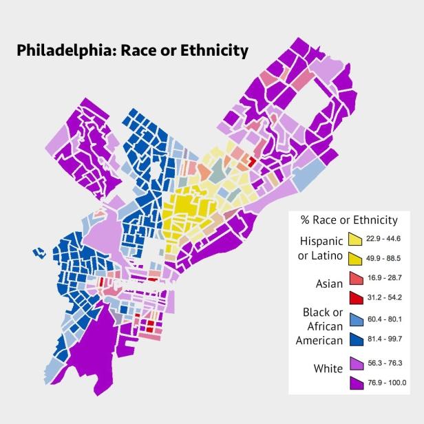 Race Ethnicity Map