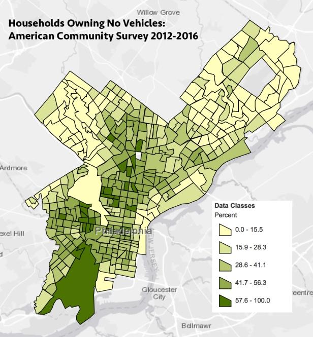 Vehicles, Philadelphia
